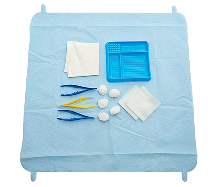 SmartTab ANTT Dressing Pack with Non-Woven Swabs and Balls Dispenser