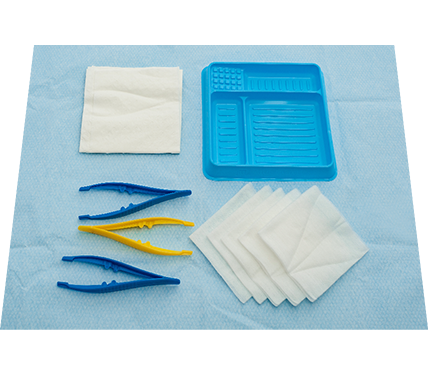 Basic Dressing Pack with Non-Woven Swabs