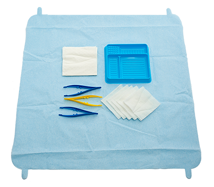 SmartTab ANTT Dressing Pack with Non-Woven Swabs
