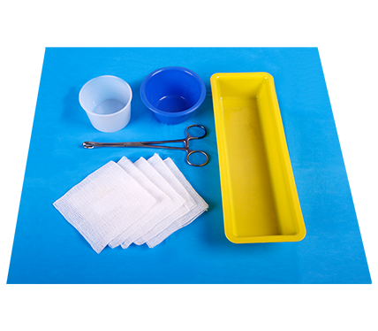 Anaesthetic Tray with Protex Drape