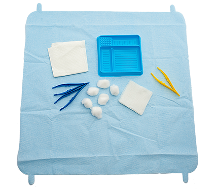 SmartTab ANTT Dressing Pack with Gauze and Cotton Inverted