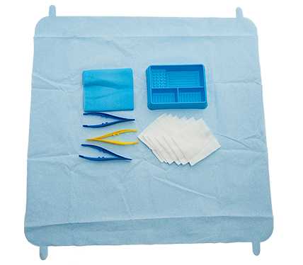 SmartTab ANTT Dressing Pack with Non Woven Swabs and Laminated Towel