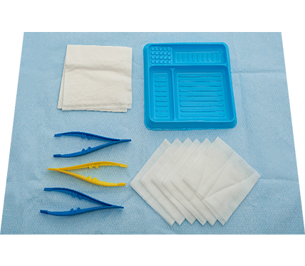 A&E Dressing Pack with 6 Non-Woven Swabs