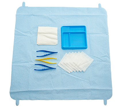 SmartTab ANTT A&E Dressing Pack with 6 Non-Woven Swabs
