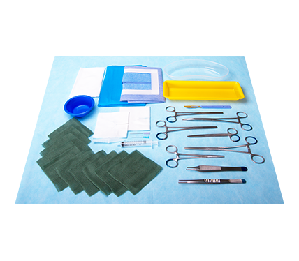Intercostal Catheter Insertion Pack