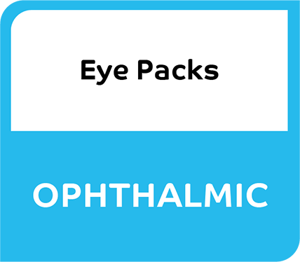 Ophthalmic-Eye Pack