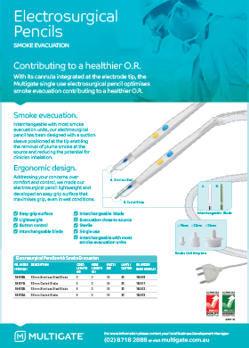 Electrosurgical Pencils Flyer